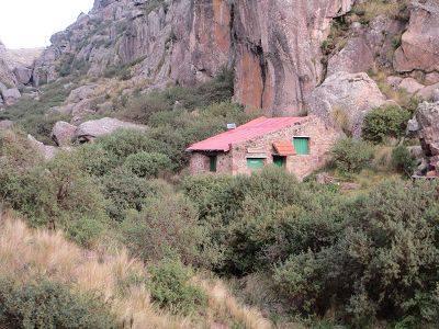Refugio Juarez DESPUÉS de la reforestación